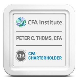 CFA Institute Peter C. Thoms, CFA