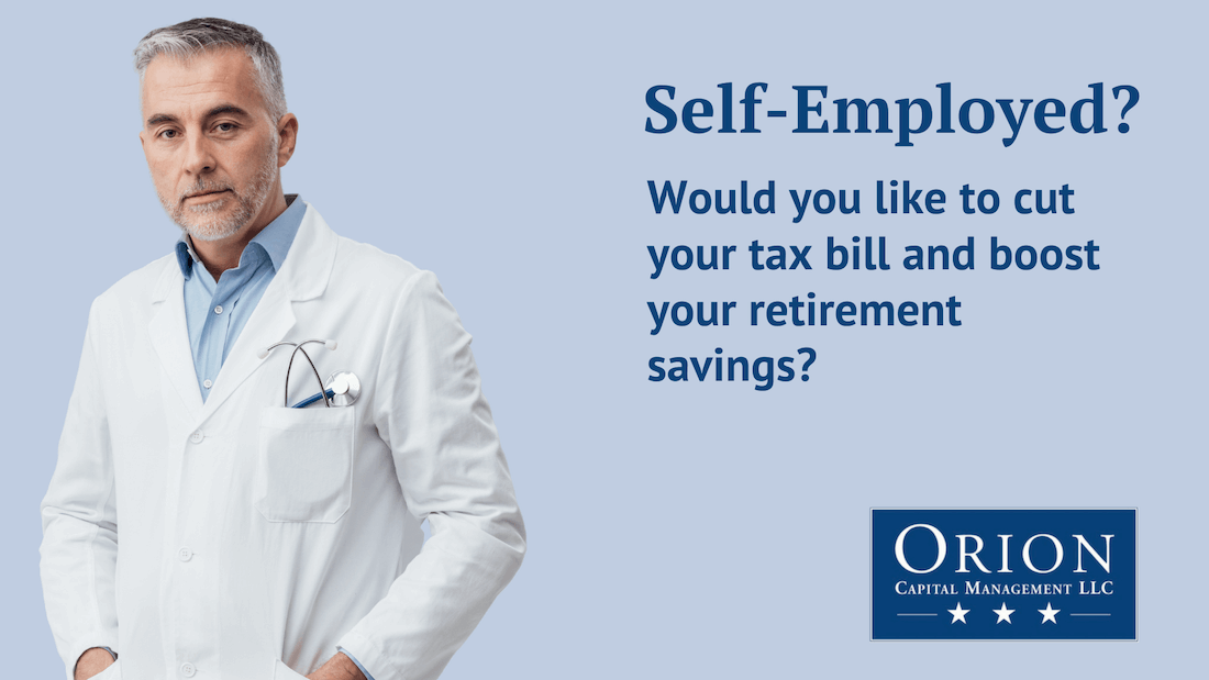 Self employed? Cut Your Taxes with this plan